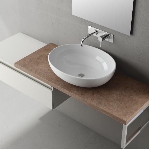 Arredo bagno sibifer - Mobili bagno lavabo appoggio ...